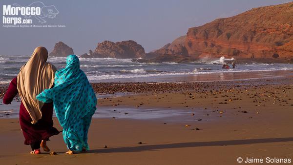 Playa en Sidi ifni